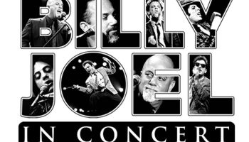 Billy Joel Concert Flyer