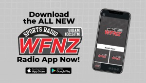 WFNZ Mobile App Graphics
