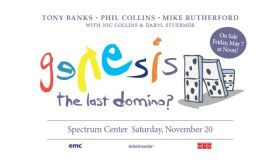win a pair of tickets to see Genesis on November 20th at the Spectrum Arena!