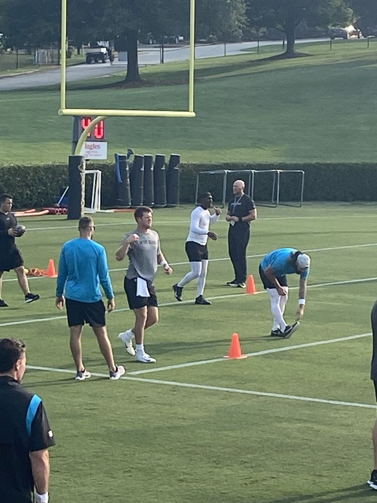 Sam Darnold Training Camp