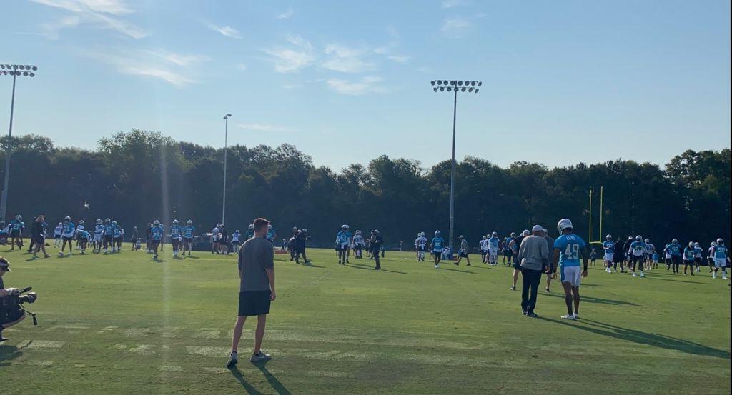 Panthers Camp Establishing Shot