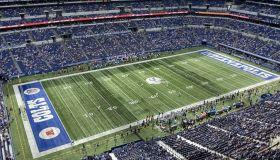 Panthers Colts Press Box